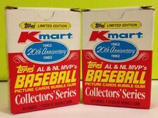 Topp's / Kmart 20th Anniversary Baseball Card Box Set 1982 LOT of (2)
