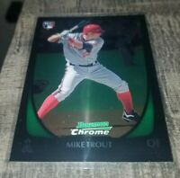 2011 Bowman Draft Chrome Mike Trout #101