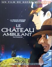 LE CHATEAU AMBULANT Affiche Cinéma / Movie Poster 53x40 MIYAZAKI