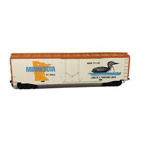 Vintage HO Mantua Minnesota Commemorative State 50' Box Car MMP 711-32