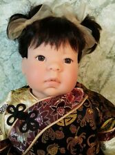 """💖""""China"""" a Lee Middleton by Reva Schick ~ Brown Eyes Black Hair � Cotw ~ Euc"""