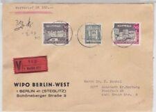 Bedarfsbrief-Briefmarken aus Berlin (1950-1951) aus Berlin