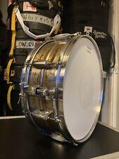 14x5 Patina Steel Snare Drum Pearl Gretsch Ludwig Dw VK Tama Custom
