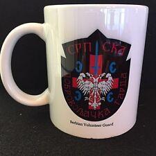 SERBIAN VOLUNTEER GUARD (Arkan's Tigers) Coffee/Tea Mug-1st Version-Serb-Bosnia