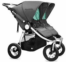 Bumbleride Indie Twin All Terrain Twin Baby Double Stroller Dawn Grey NEW 2017