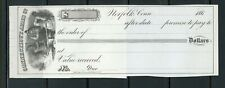 US CONNECTICUT ARMS COMPANY OF NORFOLK, CONNECTICUT UNUSED CHECK 186??
