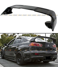 For 2008-17 Mitsubishi Lancer EVO 10 X Style Painted Blk Rear Trunk Spoiler Wing