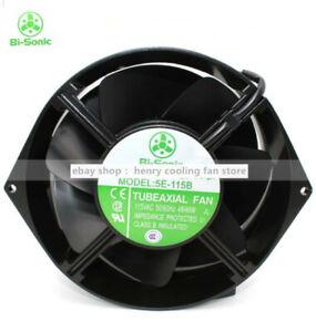 Bi-sonic 5E-115B Axial Fan 115VAC 170*150*55mm 48/46W All-Metal Cooling Fan
