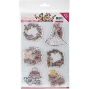 Find It Trading Yvonne Creations Clear Stamp  (Celebrations) YCS10008  NEW