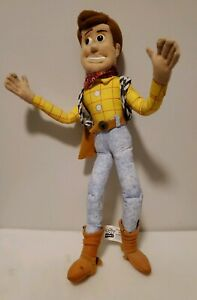 "Thinkway Toys Toy Story Woody Doll 16"" NO HAT and DOES NOT TALK"