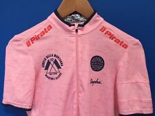 Rapha Pink Marco Pantani Collectors Cycling Jersey +Bandana with tags.