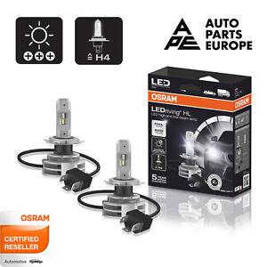 Set Paire Lampes À LED Osram H4 9726CW 6000K 12V 24V 2° Gen. 5 Garantie Ans