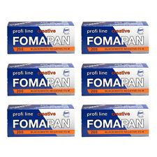 6 Rolls x FOMAPAN 200 Profi Line Creative 120 Medium Format B&W Film by FOMA