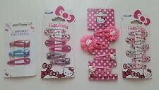 Hello Kitty Filles Barrettes à Cheveux 19x Bundle