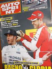 AutoSprint.Gp Giappone, Lewis Hamilton  & Sebastian Vettel,Fernando Alonso,ccc