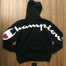 3c0a7c35aedd Supreme x Champion Black Hoodie (Large)