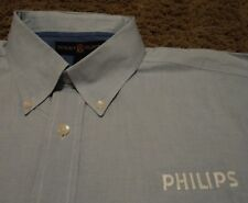 PHILIPS Logo Products Appliances Healthcare Tooth Brush Oxford Dress Shirt Large