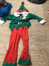 NWT Kids Elf Outfit Costume Christmas Holidays Size 2-3