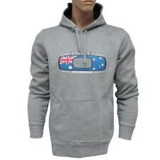 Oakley MELBOURNE Hoodie Grey Size M Mens Australia Flag Fleece Jumper Sweater