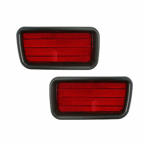 FIT FOR MONTERO SPORT 2000 -2004 REAR BUMPER REFLECTOR RIGHT & LEFT PAIR SET