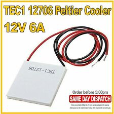 TEC1 12706 Thermoelectric Peltier Cooler  12v  6A  72W  40x40mm