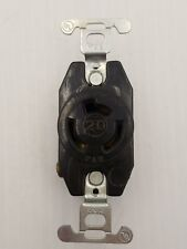 PASS & SEYMOUR (P&S)  20A-125/250V SINGLE RECEPTACLE~USED
