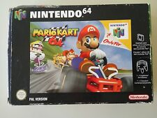 Mario Kart 64 con Caja Versión Española PAL Nintendo 64 N64