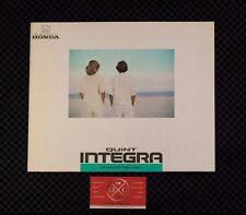 1G Integra Quint JDM Brochure Catalog Rare 86-89 87 88 85 Honda Acura Rare DA