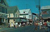 Vintage Postcard Town Shops Commercial Street Provincetown Cape Cod MA