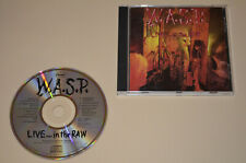 W.A.S.P. - Live... In The Raw / Capitol 1987 / Made In USA / Rar