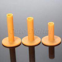54mm 70mm 83mm Plastic Rubber Golf Driving Practice Range Tees Holder Mats 3Pcs