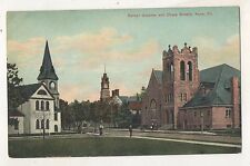 Corner Greeves and Chase Streets KANE PA Vtg McKean County Pennsylvania Postcard