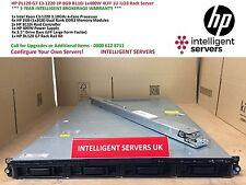 HP DL120 G7 1x E3-1220 8GB B110i 1x 400W iLO3 1U Rack Server