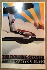 Rolling Stones 1972 Vintage Stones American   Tour Poster, 38X35