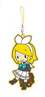 Vocaloid Rin School Uniform Rubber Sega Phone Strap NEW
