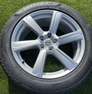 "VOLVO XC90 19"" INCH RIM ALLOY WHEEL 8J X19H2 ET42.5 SILVER 31423021 Winter Tyre"