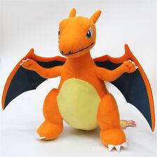 13'' Rare Pokemon CHARIZARD Figure Animal Plush Toy Soft Teddy Stuffed xmas Doll