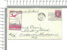 Service postal aerien france etats unis Marseille Hudson New York USA ; 60302