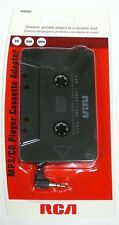 AH600N RCA Cassette Tape Adapter for CD/XM/IPOD/MP3 Audio to Car Stereo Deck