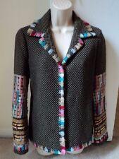 Rare! BIYA Johnny Was Detailed Embroidered Blazer Jacket Coat Size Small