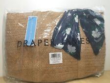 Draper James Everyday Straw Bag Blue Floral Scarf FabFitFun Summer 2020
