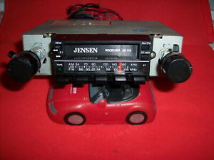 Vintage JENSEN   AM/FM CASSETTE STEREO PUSHBUTTON TUNING  +SERVICED WORKING