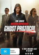 GHOST PROTOCOL-MISSION IMPOSSIBLE DVD=TOM CRUISE=REGION 4=NEW AND SEALED