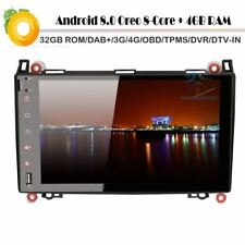 "Android 8.0 9""Touchscreen DAB+Autoradio BT GPS Mercedes Sprinter Viano Vito W639"