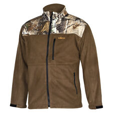 Habit H-Ss-1600-Br Realtree Camo Fleece Softshell Windproof Jacket Large