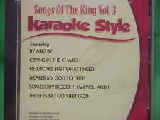 Songs of the King~#3 ~ ELVIS ~ Daywind ~ Karaoke Style ~~ No God But God ~~ CD+G