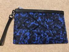 Michael Kors Bag Wristlet Clutch Blue Jet Set Travel wallet new Men's Women's
