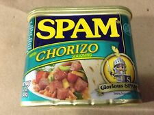 Spam Chorizo Lot of 4 Net Wt 12 Oz 340g Per Can