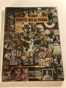 1984 SAN FRANCISCO GIANTS Official Yearbook JACK CLARK Willie MAYS Juan MARICHAL