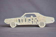 Mercury Cougar Vintage Car Wooden Puzzle Toy Amish Made